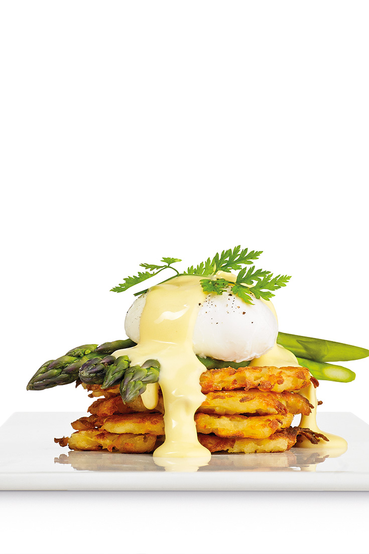 Make Quick and Easy Hollandaise with leftover egg yolks
