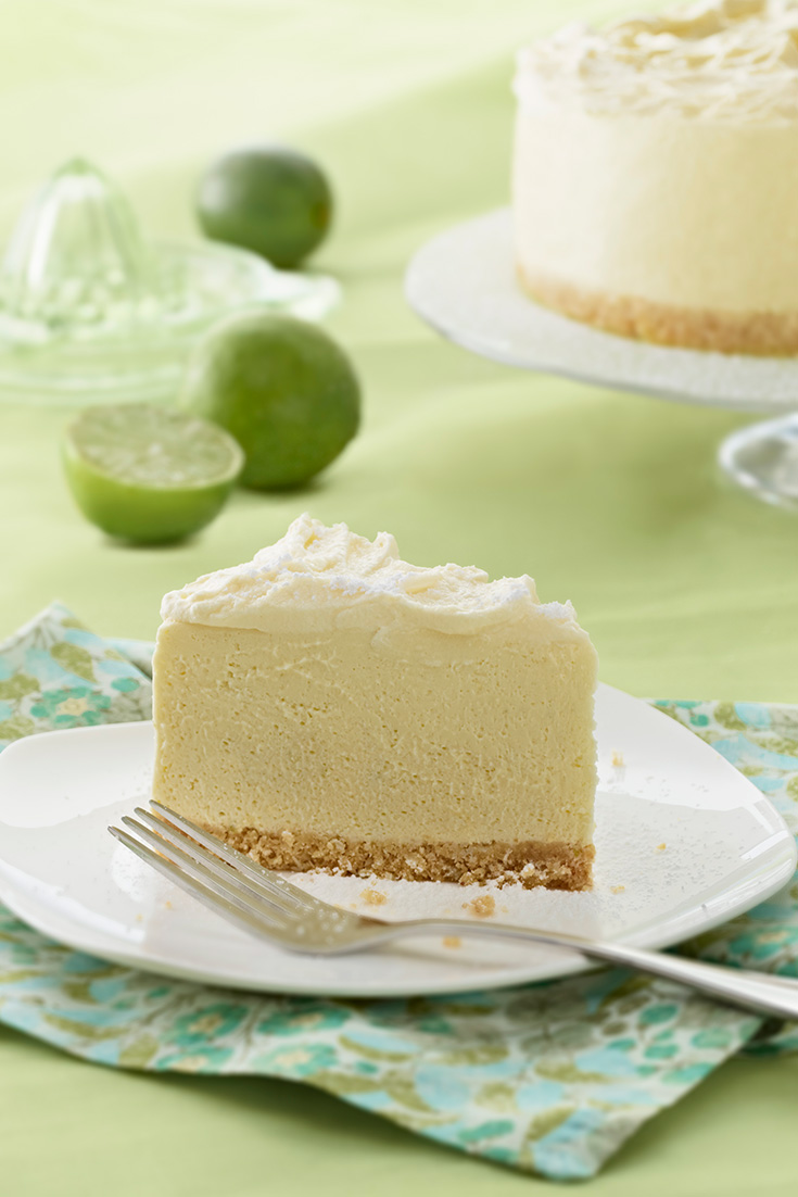 This Delicious White Chocolate Lime Angel Cheesecake Is A Great Way To Use Up Egg Whites