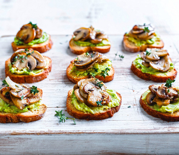 Mushroom and Avocado Toastie Recipe