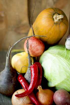 Autumn vegetables that freeze well