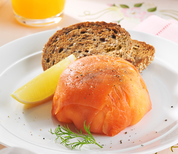 Smoked Salmon and Scrambled Egg Parcel - Australian Eggs