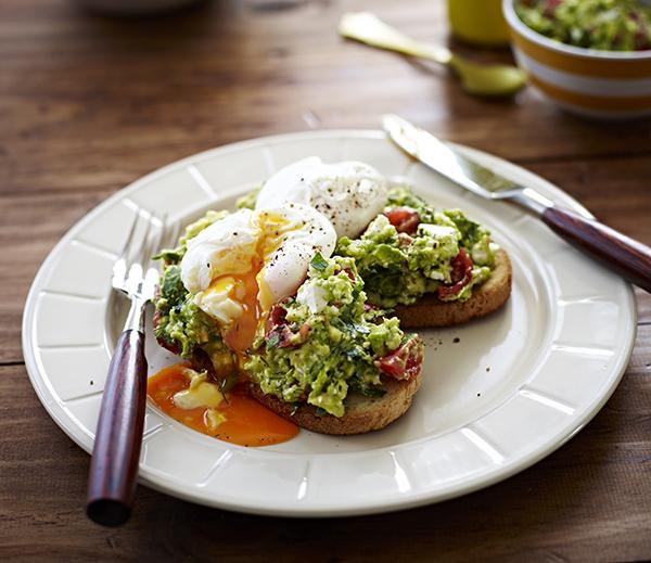 Poached Eggs with Avocado and Feta Smash - Australian Eggs