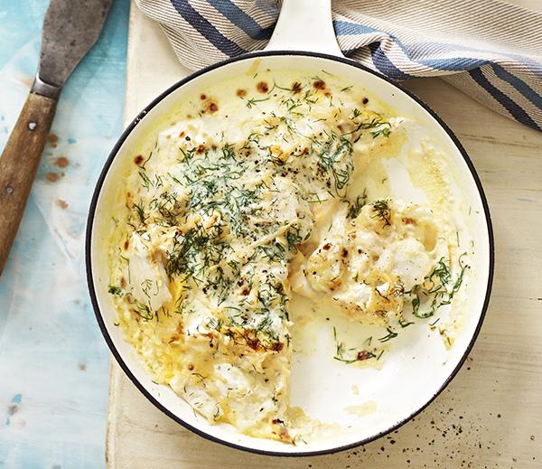 White Fish Omelette - Australian Eggs