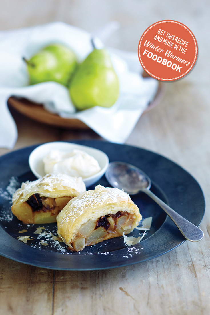 Create this delicious strudel recipe from the Winter Warmers Foodbook 2016