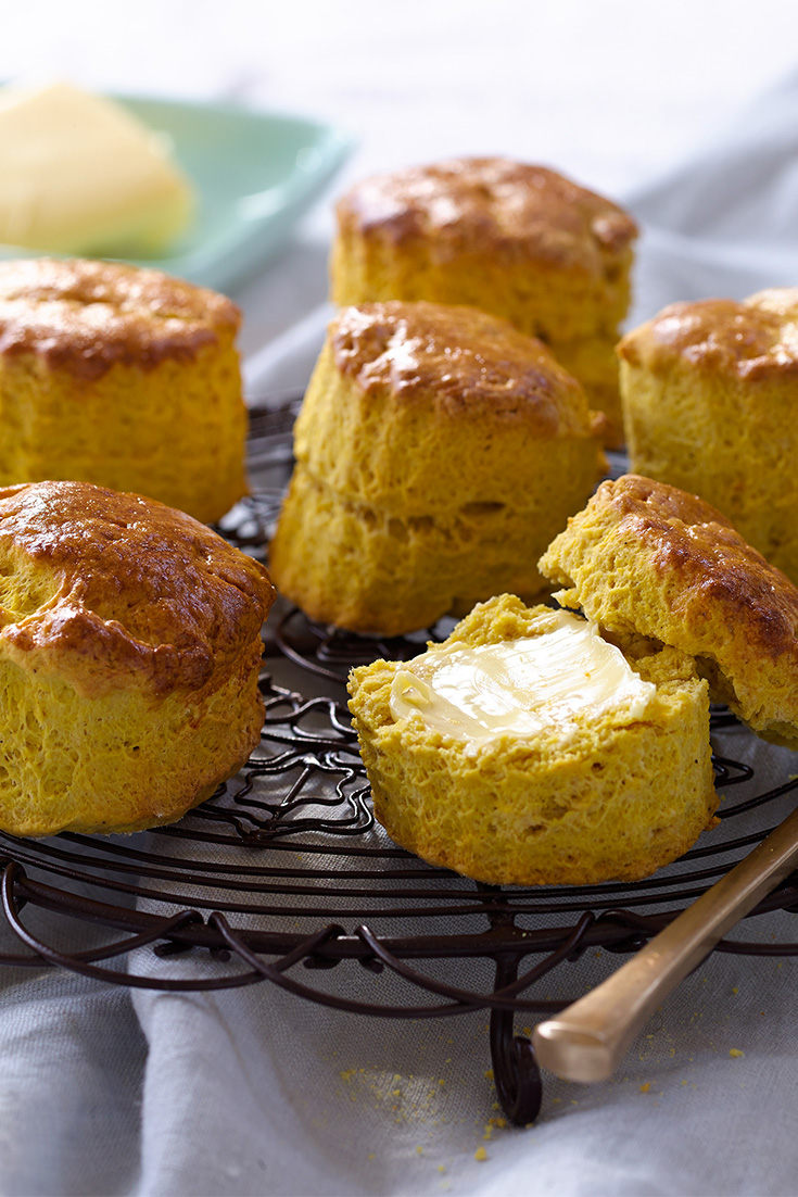 These butter tips will help you to create a rich and fluffy baked scone texture. Try this recipe for pumpkin scones for a great morning tea idea.