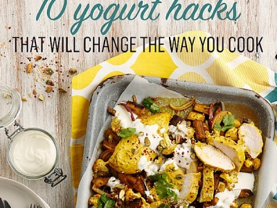 10 ways to use yogurt in cooking