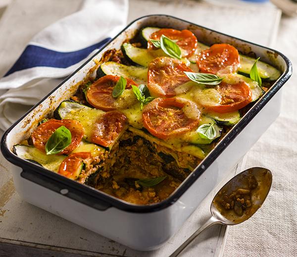 Turkey and Vegetable Lasagne