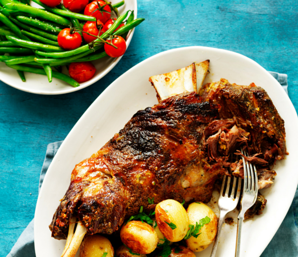 Make a marinade for Lamb Shoulder in your blender