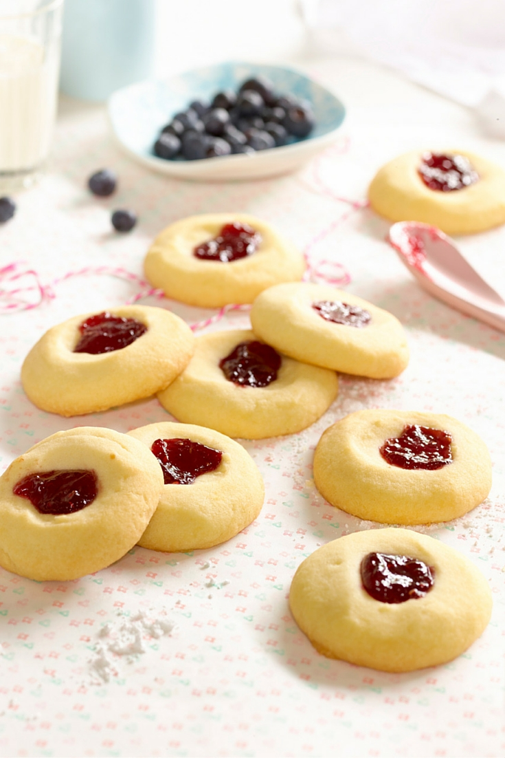Jam Drop Biscuits - A Quick and Easy Afternoon Snack and a great baking idea for kids cooking
