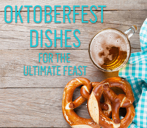 Collection of great Oktoberfest style recipes from appetisers and mains to dessert