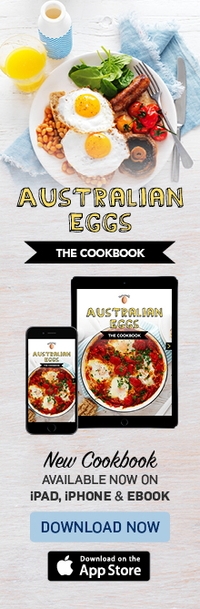 Australian Eggs cookbook