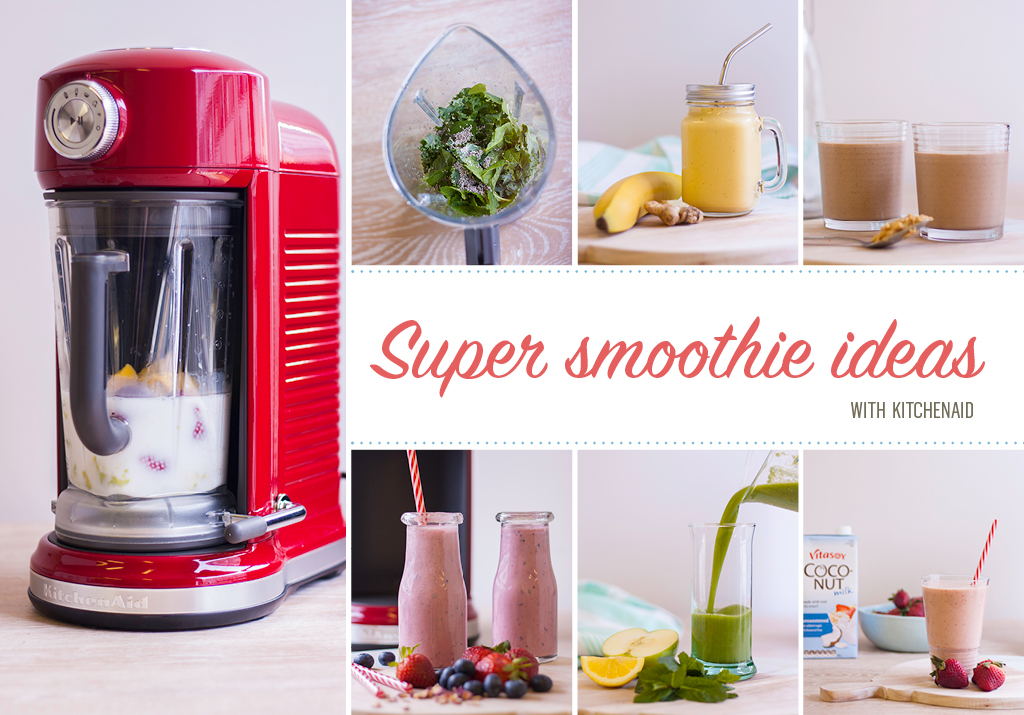smoothies in the kitchenaid magnetic drive blender myfoodbook. Black Bedroom Furniture Sets. Home Design Ideas