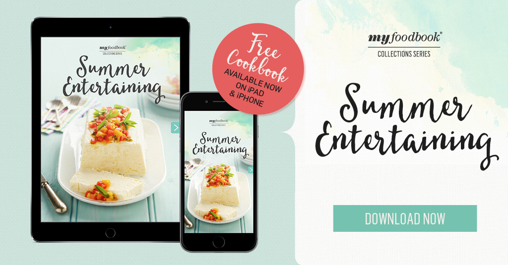 myfoodbook App for iPad and iPhone