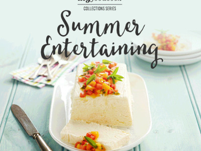 Summer Entertaining Recipe Cookbook