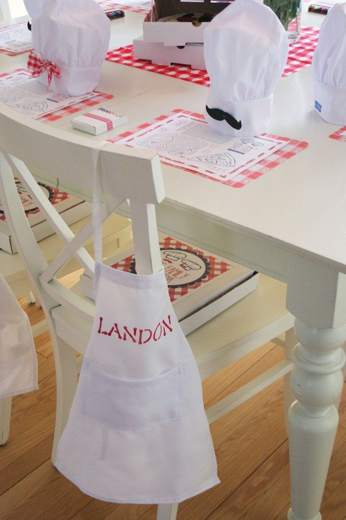 Perfect kids party theme ideas like little chefs