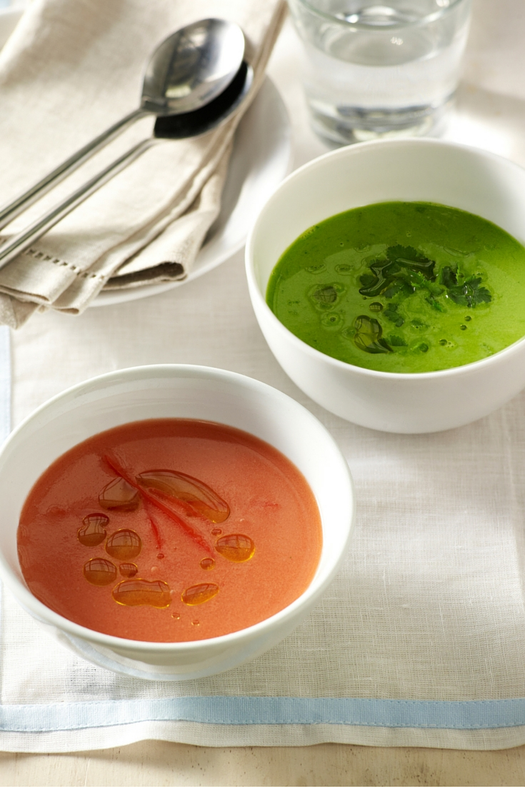 The flavours of Spain in this Gazpacho Two Ways