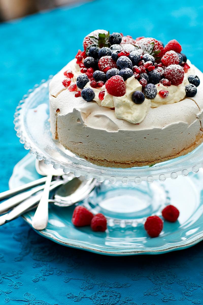 KitchenAid Vanilla Pavlova Recipe using KitchenAid Stand Mixer