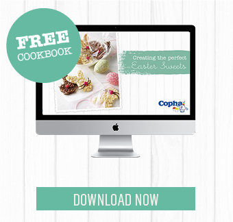 Easy Easter Sweet recipes in a lovely, free cookbook.