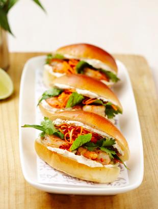 Recipe for prawn sliders