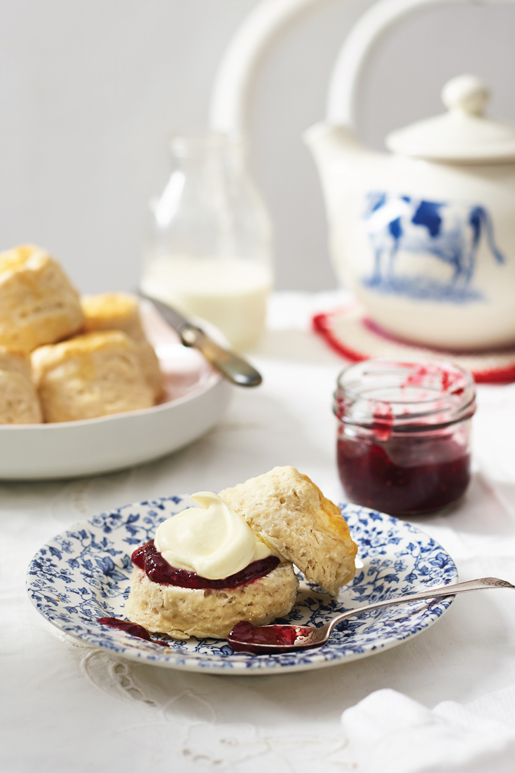 Learn how to make traditional lemonade scones with this easy recipe. Perfect with strawberry jam and cream
