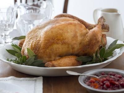 How to roast a whole turkey