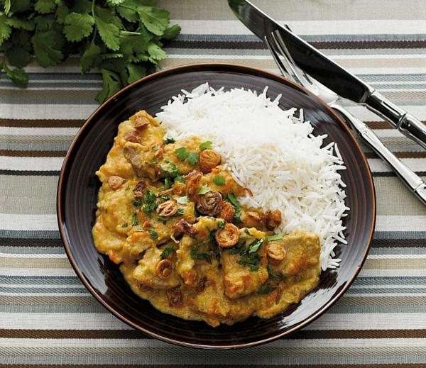 Easy slow cooker Pork Satay Hot Pot Recipe