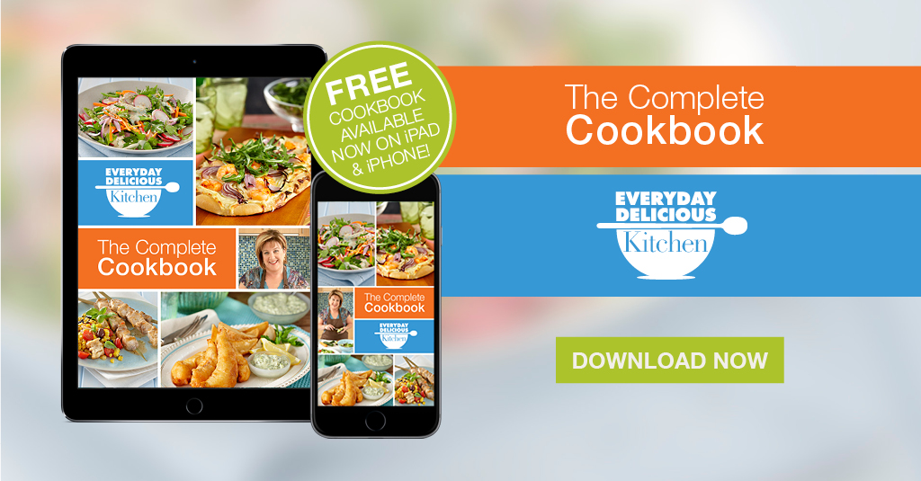 Everyday Delicious Kitchen Recipes on iPad and iPhone