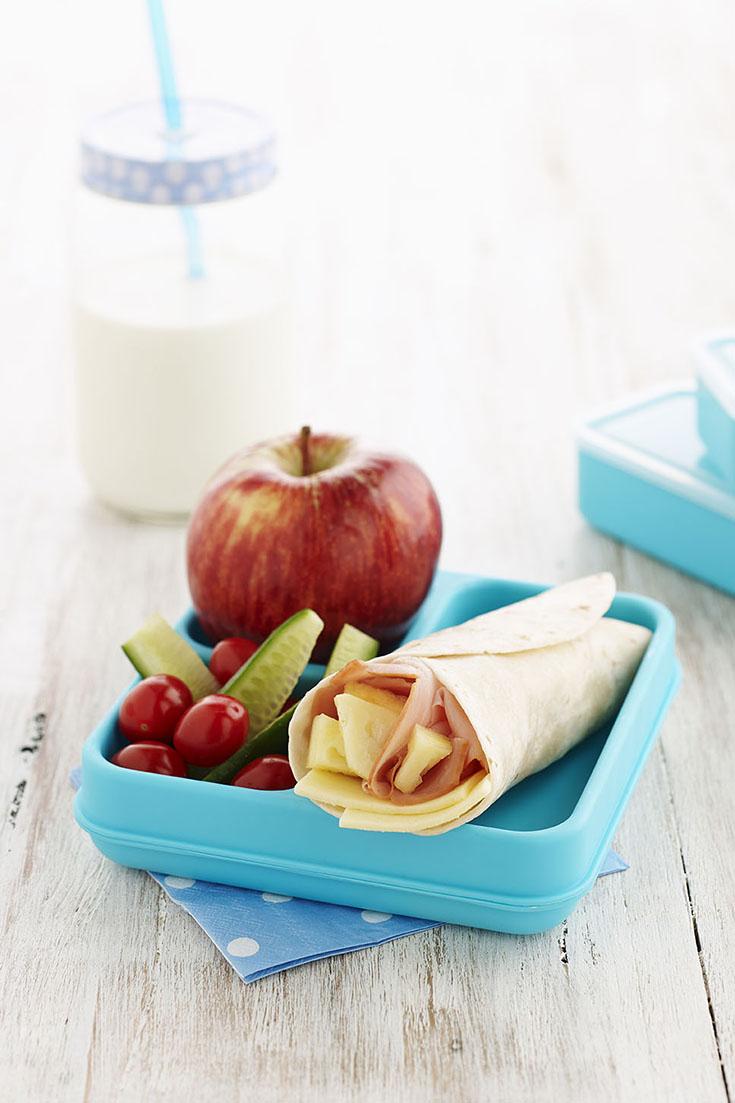 Hawaiian Lunchbox Wraps