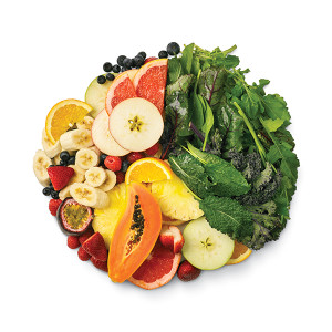 Beginner's green smoothie ratio of fruit to leafy greens - creating the ultimate green smoothie