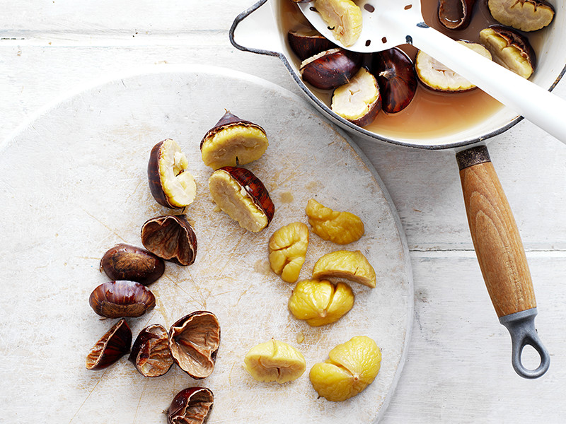 How to cook chestnuts: Chestnuts can be boiled, roasted and microwaved.