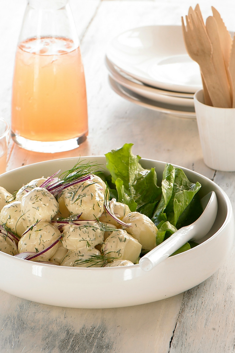 Easy potato salad recipe great for entertaining
