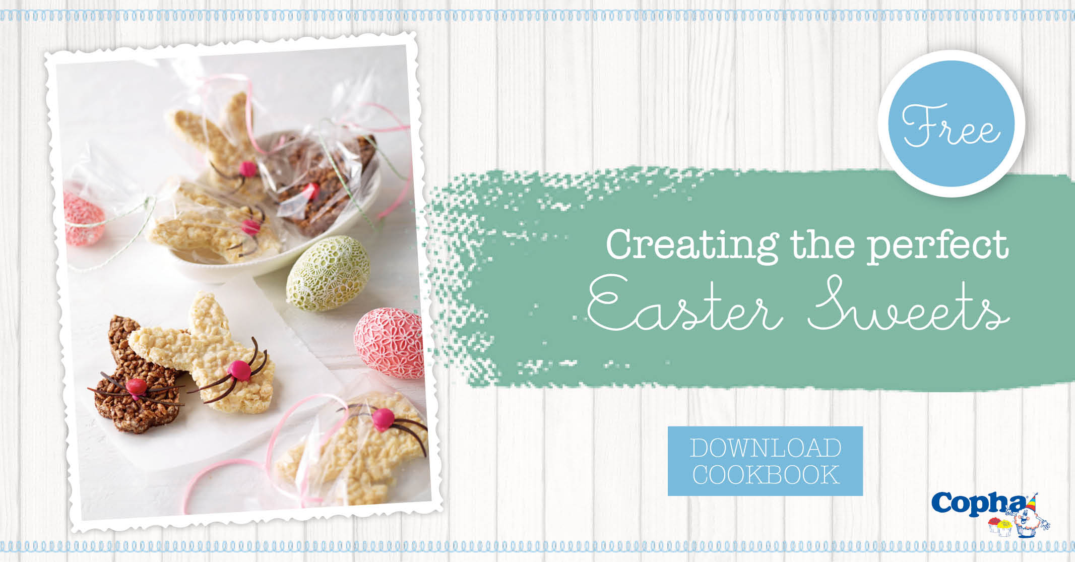 Easter sweets cookbook - great for kids baking and decorating