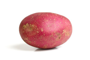 This is a Red Desiree Potato - They can be boiled, mashed, baked, roasted, microwaved and used in salads. Not recommended for deep frying.