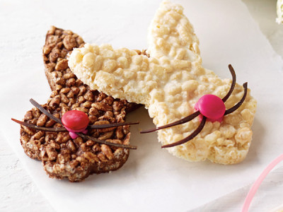 This chocolate crackles recipe is a fun easter baking recipe for the kids