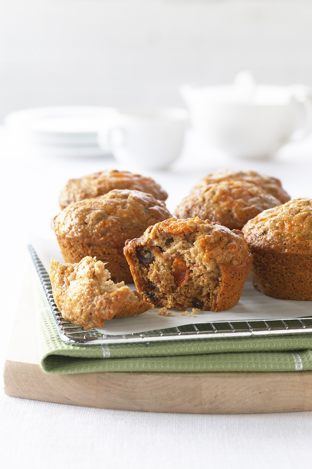 Get cooking with persimmons with this delicious and low fat muffin recipe