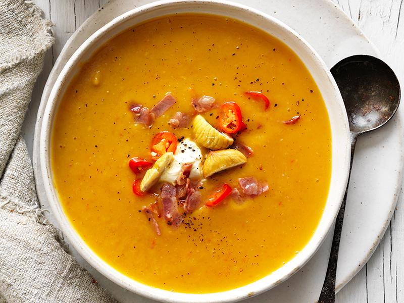 New pumpkin soup recipe