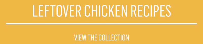Make delicious recipes with chicken leftovers. From sliders to curry there are so many options.
