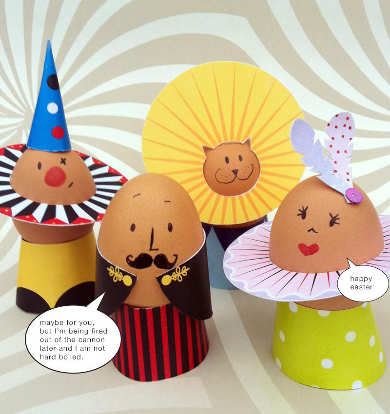 Printable are such a fun and easy way for kids to decorate Easter eggs.