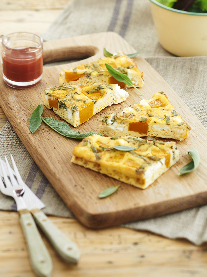 Create this great pumpkin frittata and other delicious pumpkin recipes with o