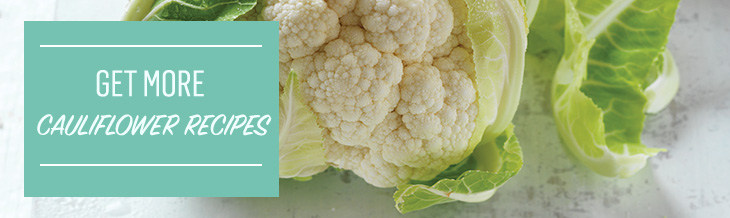 Re-discover cooking with cauliflower with this great collection of delicious recipes