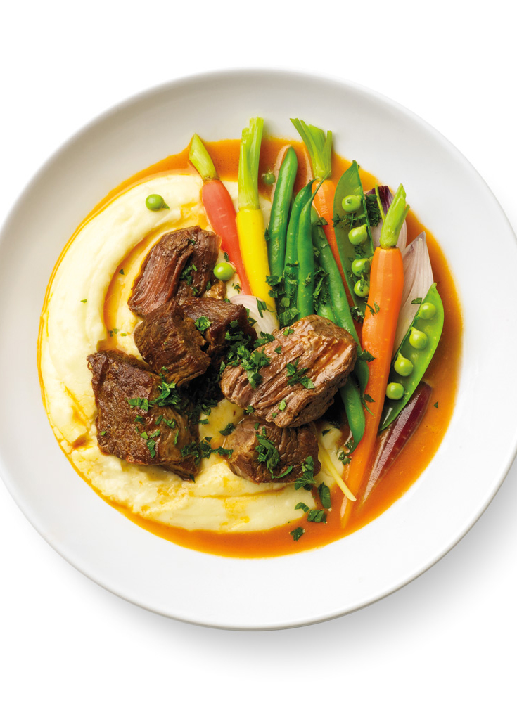 Create this Beef En Daube recipe Breville as a great idea for using your slow or pressure cooker