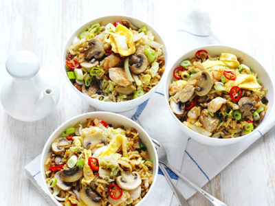 This fried rice recipe is one of the quick dinner ideas found in the under 30 minutes meal collection
