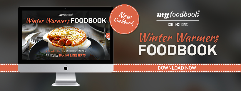 Get your copy of the Winter Warmers foodbook with recipes for slow cooking, pasta, one-pot wonders and warming dessert ideas