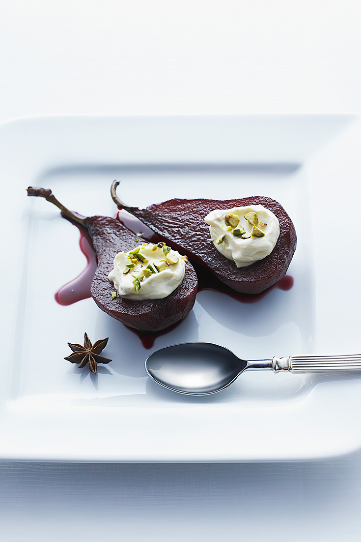 Red wine and pears is one of the best flavour combinations. Try it in this poached pear recipe.