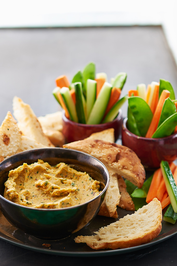 Use nut butter to create this incredible recipe for pumpkin and almond dip