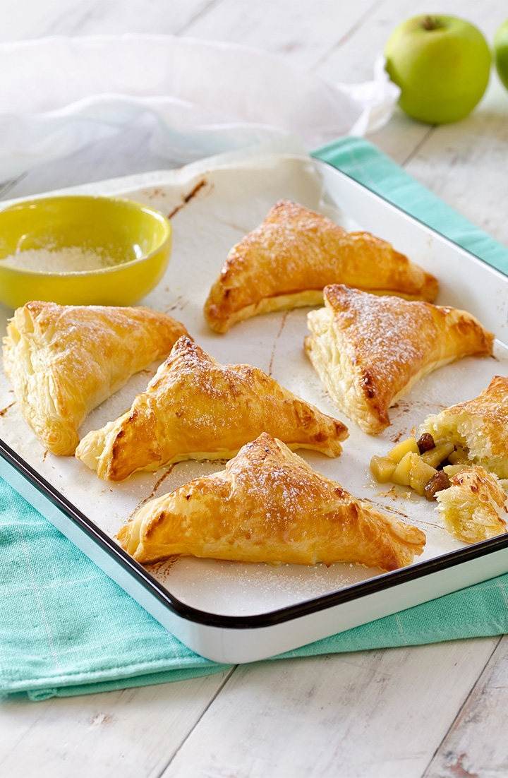 Create this delicious apple turnover recipe as a great idea for cooking with apples