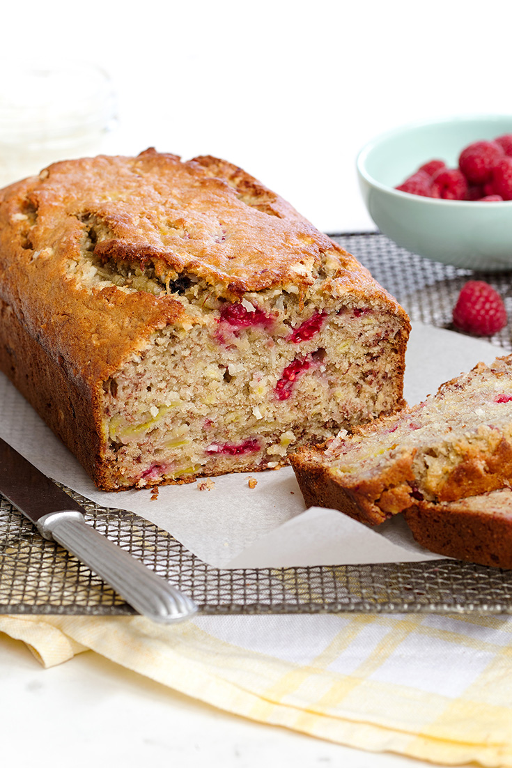Know which butter is best for your recipe and then create this incredible raspberry and coconut bread