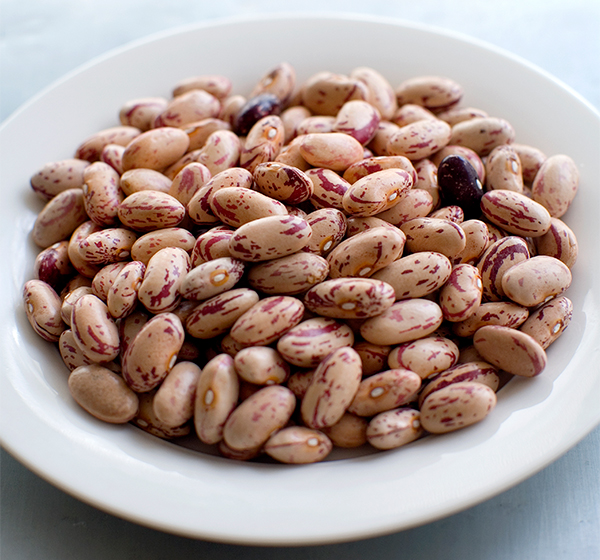 Cooking with beans is a great winter recipe option. Use this borlotti bean in slow cooking recipes for a delicious dinner idea