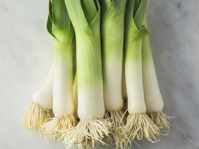 Create hearty recipes by cooking with leeks