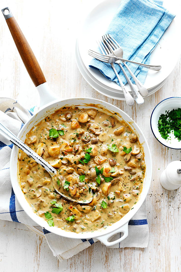 Make this best ever mushroom sauce recipe and learn 10 ways to use this recipe